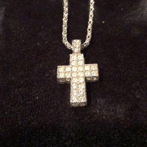 Swarovski Crystal across Necklace